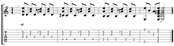 奏イントロ pdf 1ページ